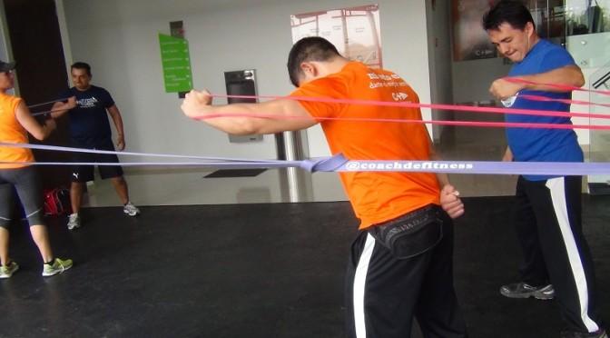 Entrenamiento de fuerza en clases grupales